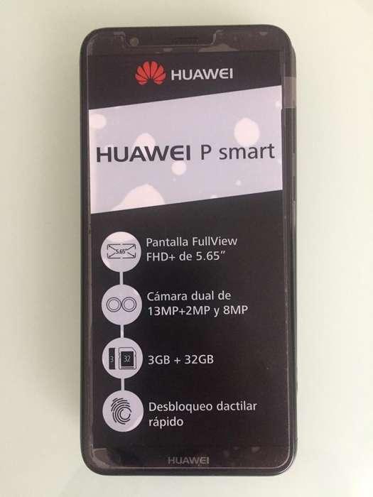 Super Oferta... Celular Huawei P Smart 2018 NEGRO RAM 3 GB MEMORIA 32GB