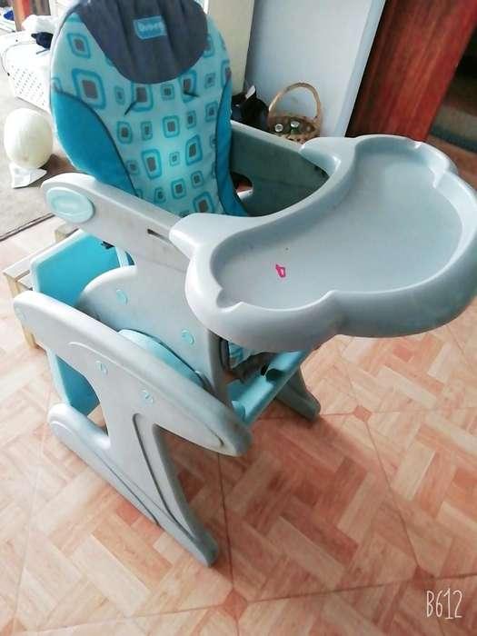 Silla Comedor Y Escritorio para Bebes