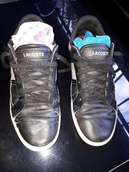 Zapatillas Talle 39. Lacoste