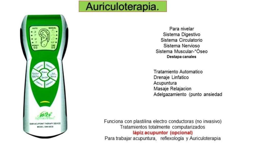 Auriculoterapia equipo para terapias maneja