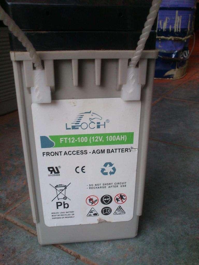 Bateria Gel Leoch Lp12100 12v X 100ah