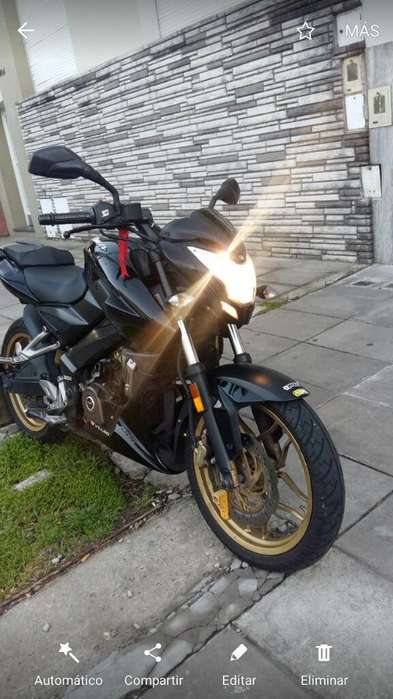 Bajaj Rouser Ns200 Ns 200 Impecable