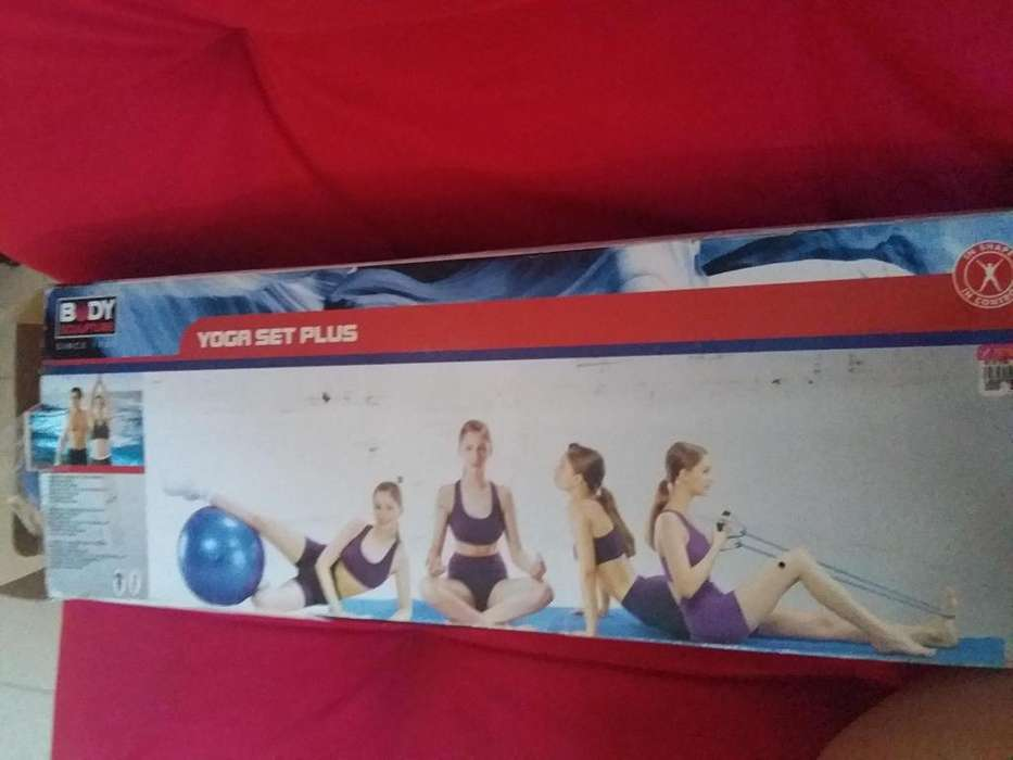 PELOTA YOGA SET PLUS