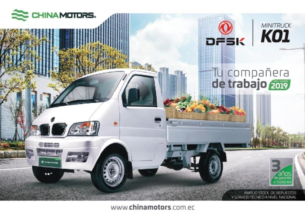 DFSK K01 MINITRUCK 2019 CHINA MOTORS