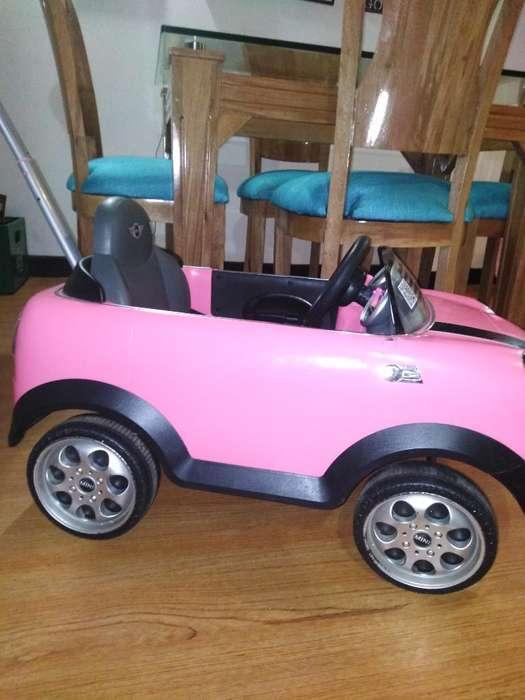 Carro para Niña Mini Cooper