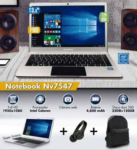 Laptop Advance NV7547 13.3