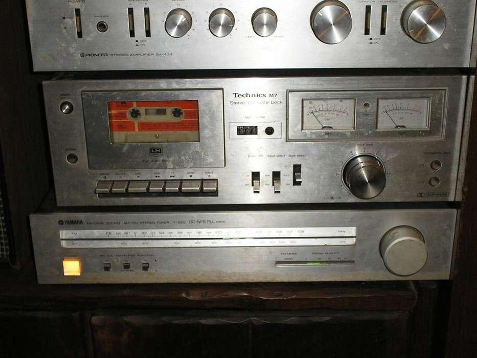 CENTRO MUSICAL TORRE .PIONNER TECHNICS YAMAHA JVC..EXCELENTE SONIDO