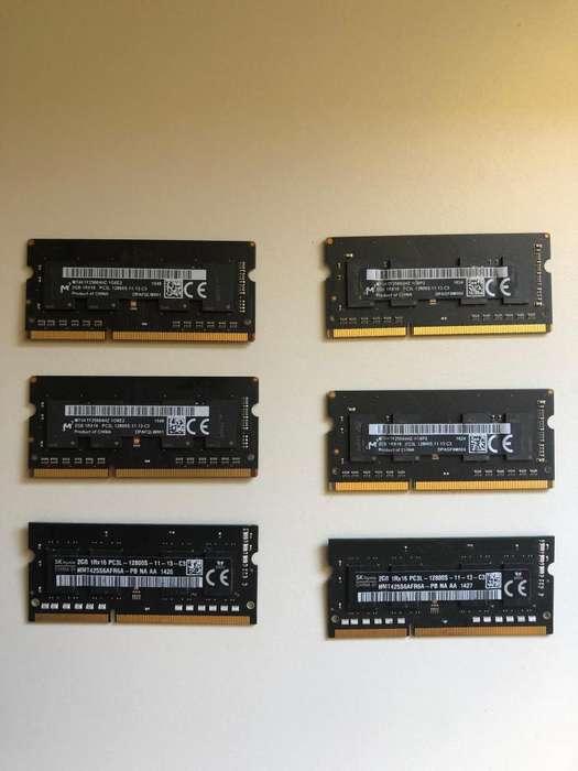 MEMORIA RAM 2GB 1600MHZ.FULL
