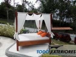 camas árabes, asoleadoras, sombrillas, membranas arquitectónicas, carpas, toldos, parasoles