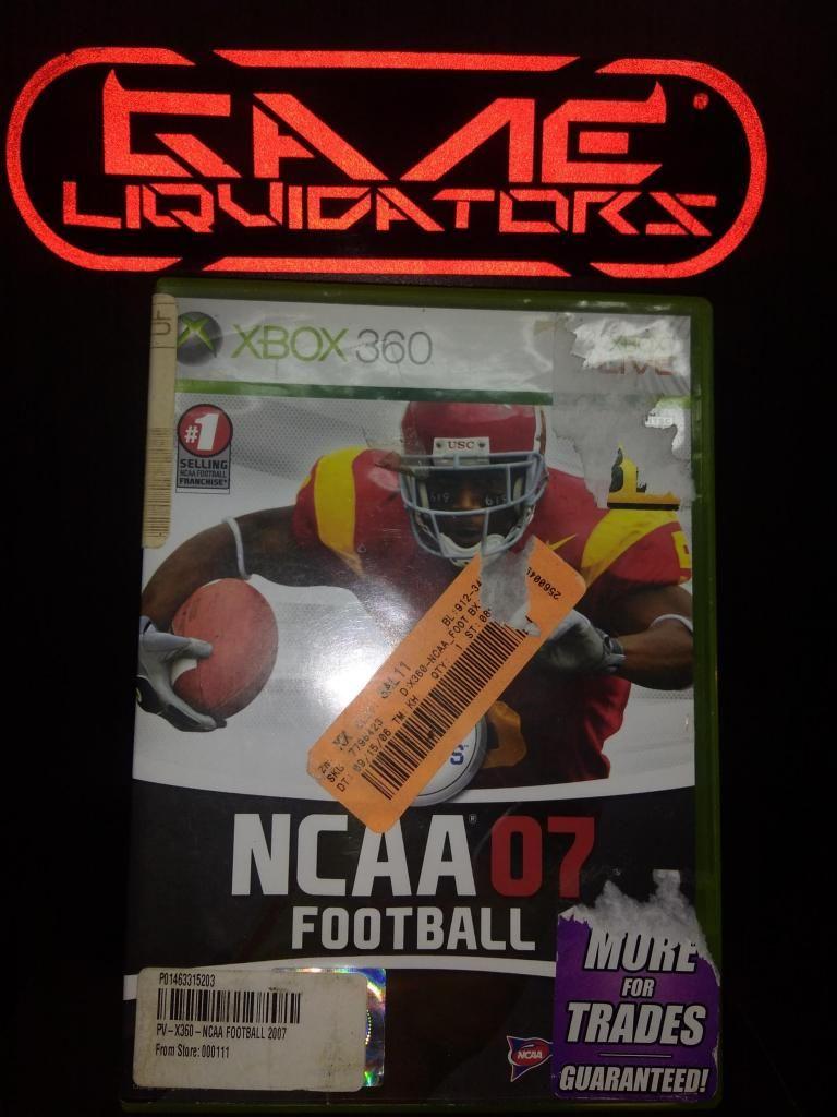 NCAAFOOTBALL07 XBOX 360