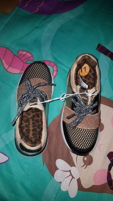 Zapatos Niña Talla 11 Nuevos