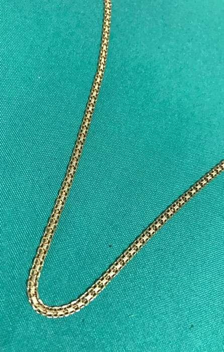 Cadena de Oro 18K. Mujer