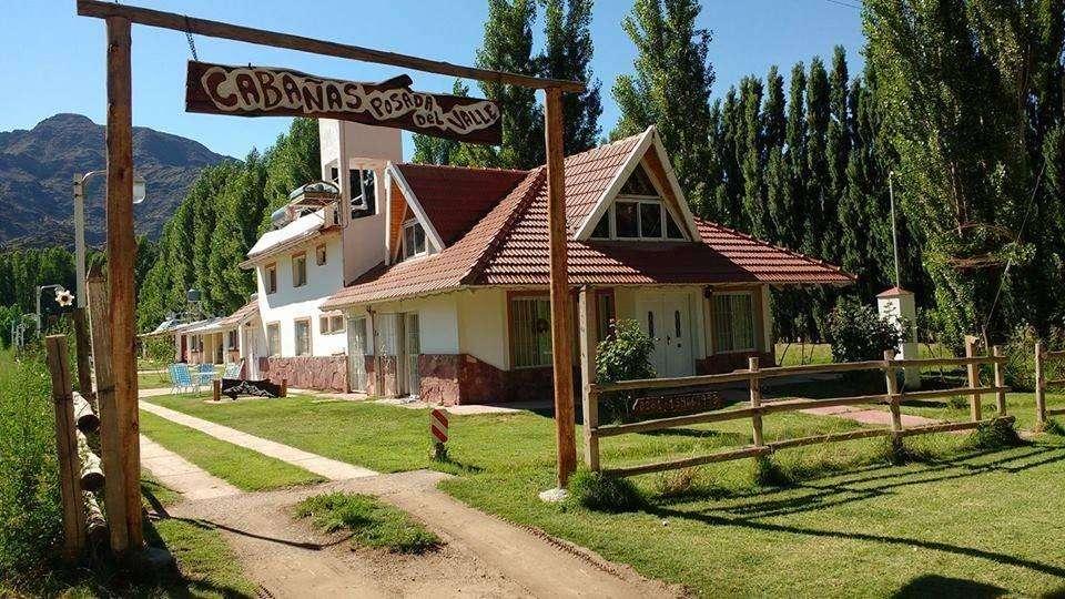 nd50 - Cabaña para 2 a 20 personas con pileta y cochera en Uspallata