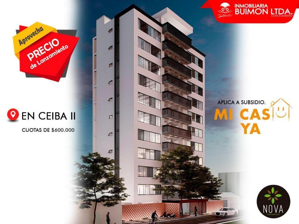 Apartamentos en CEIBA 2, aplica a subsidios. Luis Parada. 320 947 5599.