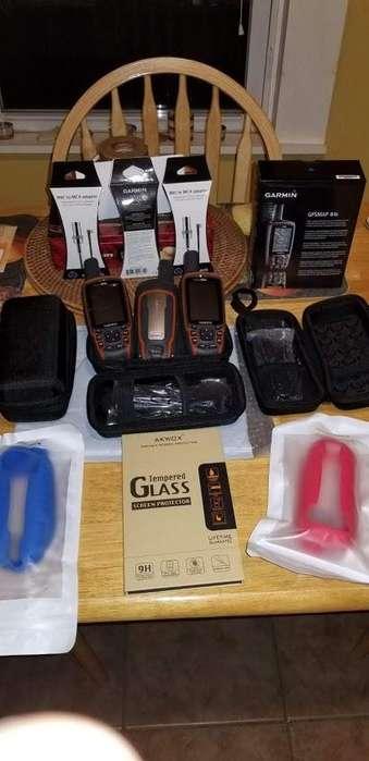 KIT <strong>gps</strong> GARMIN 64S, ANTENA GLONASS Y ACCESORIOS