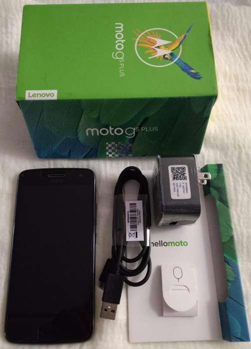 Vendo Motorola G5 Plus Libre de Fábrica