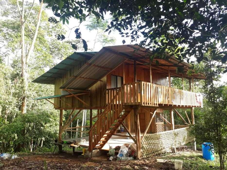 Terreno Con Casa En Misuahualli-Tena