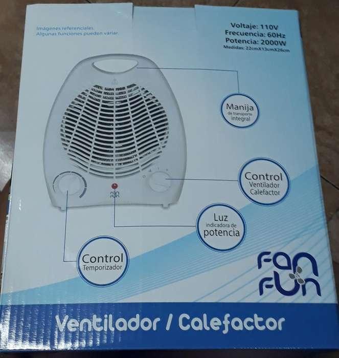 Ventilador Calefactor Fan Fun