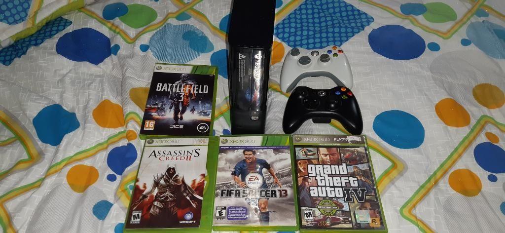 Xbox 360 4peliculas Originales