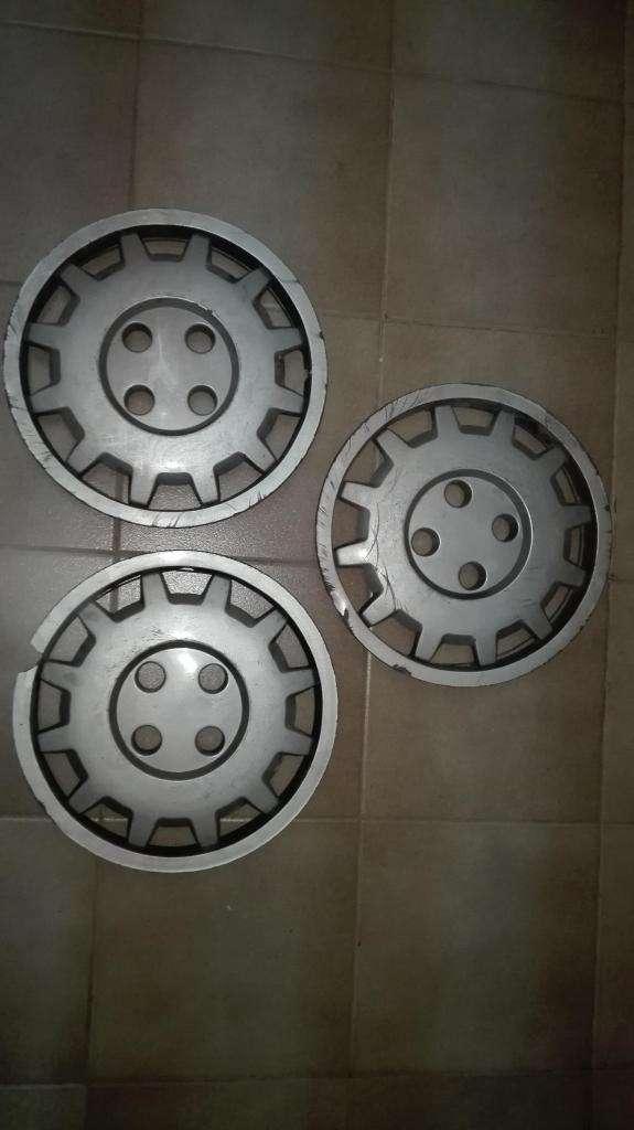 3 tazas plasticas 14 pulgadas Renault