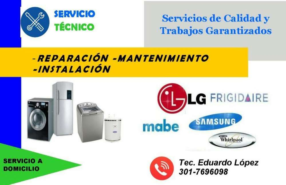 Servicio Técnico de Lavadoras, Neveras