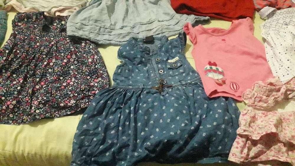 Lote de <strong>ropa</strong> de Niña de 18 a 24 Meses