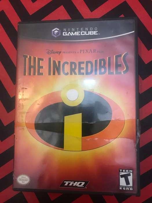 Juego para Gamecube de Los Increibles