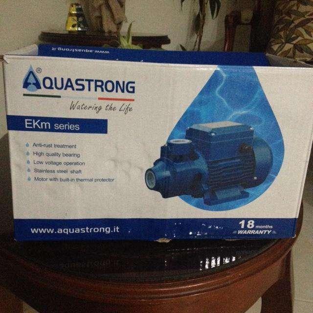 Motobomba Bomba De Agua Electrica 1 Hp Aquastrong Italiana