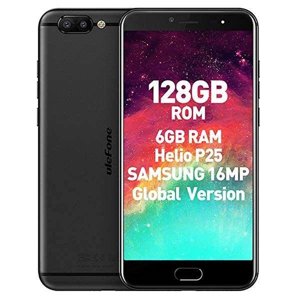 Celular Ulefone T1 128gb Negro