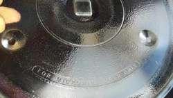 plato para microondas diametro 28cm encastre cuadrado