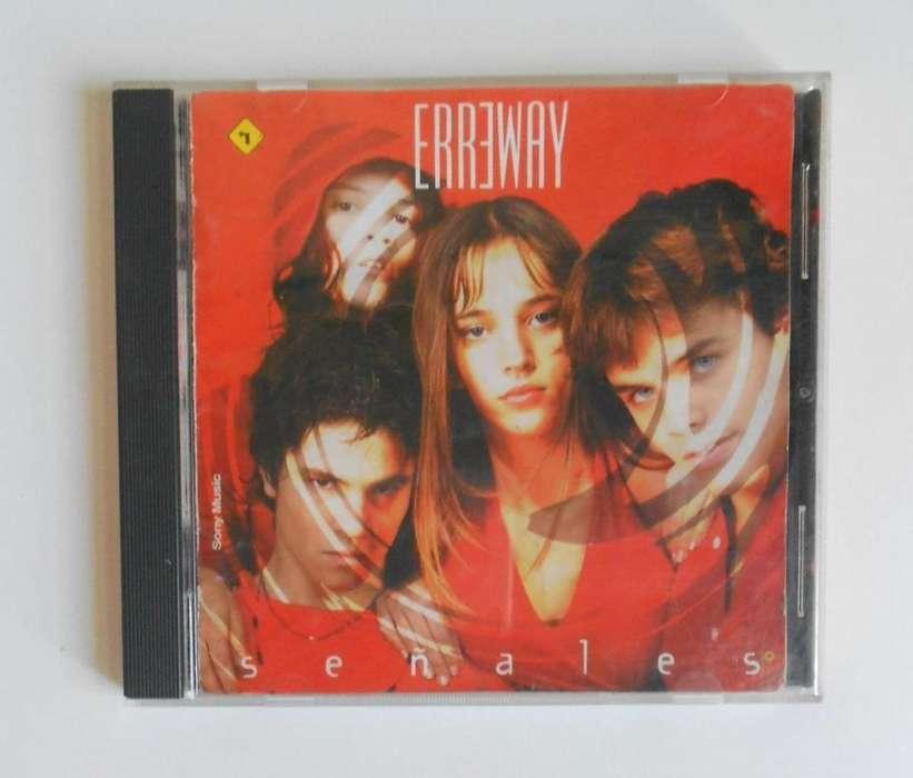 Cd Erreway Señales Musica Cdlabocajess