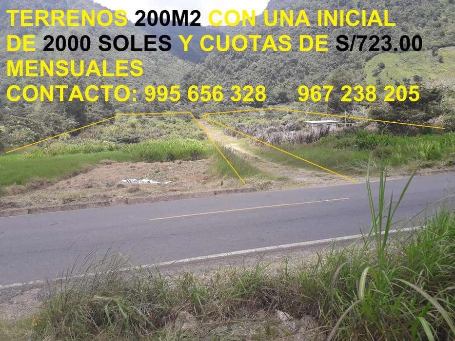 Terrenos a crédito 200m2 en Cantarizú Provincia Oxapampa