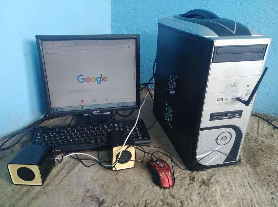Computador Completo con Wifi Sonido 350k