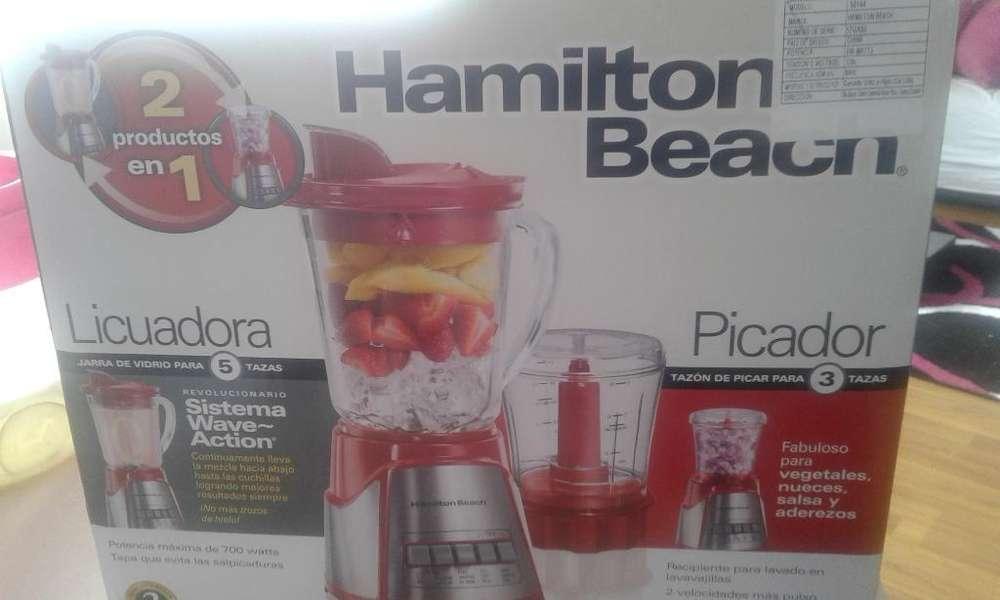 <strong>licuadora</strong> Y Picador Hamilton Beach