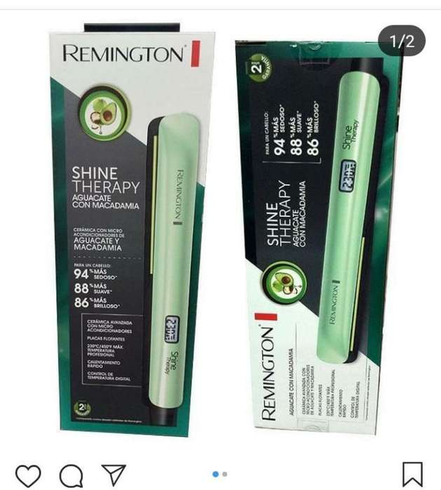 Plancha Remington Aguacate Y Macadamia