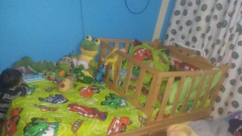 cama cuna niño