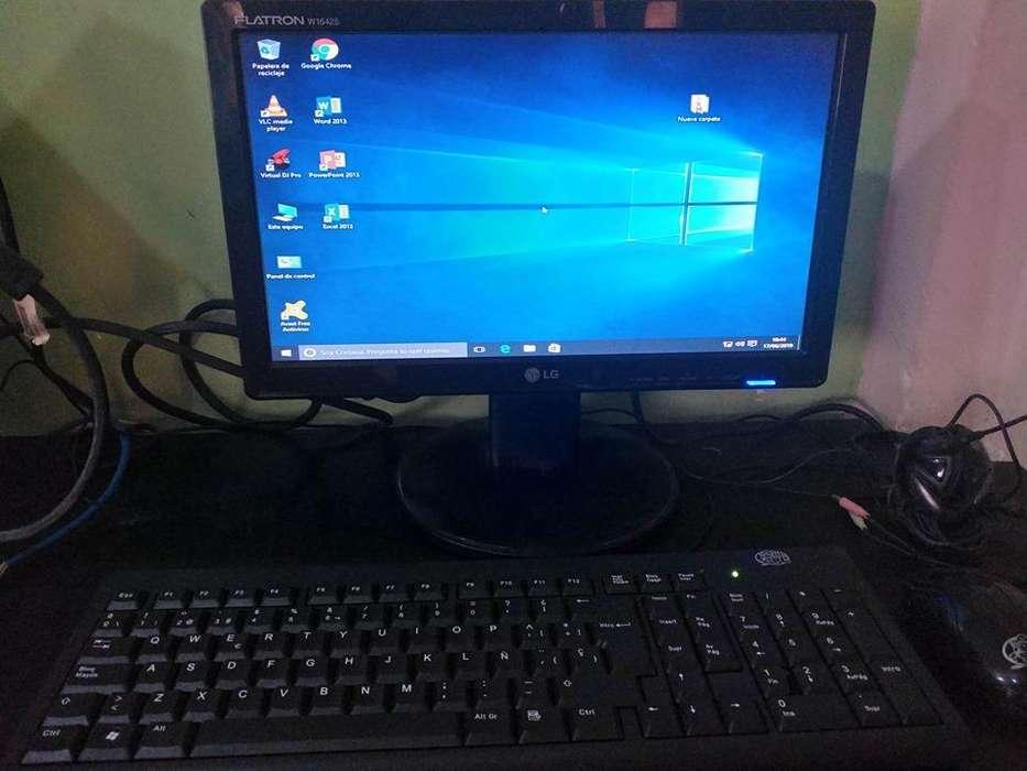 <strong>monitor</strong> LCD LG DE 16 PULGADAS LISTO PARA TRABAJAR