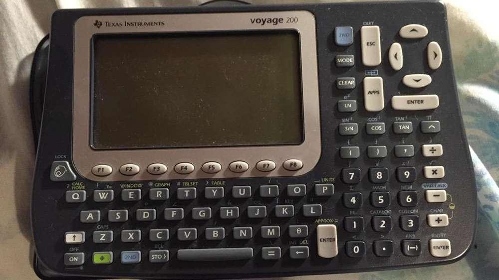 <strong>calculadora</strong> Texas Voyage 200