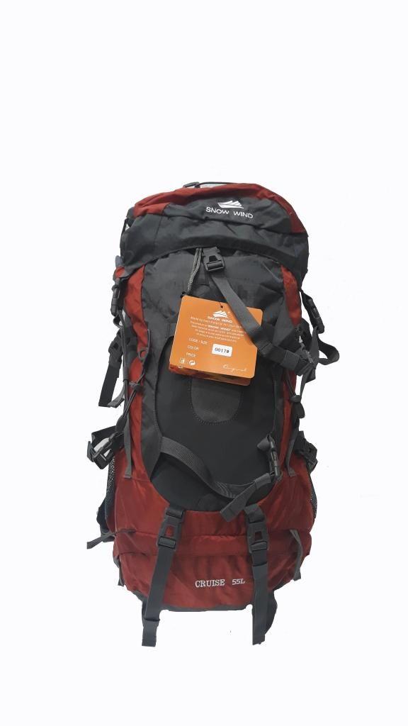 Mochila Camping Trekking 55 Lts Importada