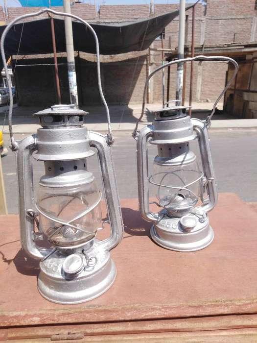 Antiguas Lámparas de Kerosene