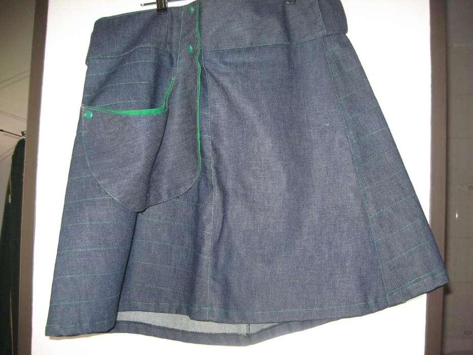 Pollera Jean Talle XL 250