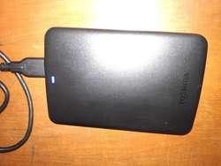 Disco Duro Externo Toshiba Canvio Basic,1TB Usb 3.0