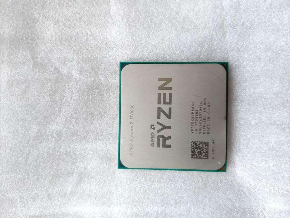 Procesador Ryzen 7 1700x Usado Excelente Condición Sin Caja