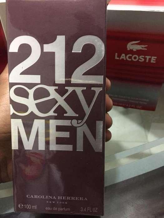 212 SEXY MEN 100 ML ORIGINAL GARANTIZADO