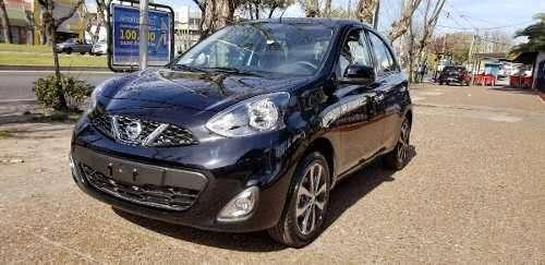 Nissan March 1.6 Advance Pure Drive 0km 2018 Negro