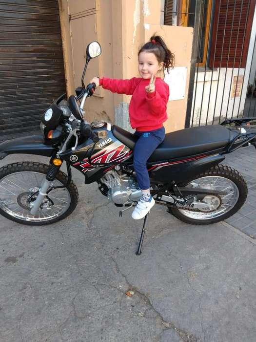 Motocicleta <strong>yamaha</strong> XTZ 125 - 1000KM - NUEVA VENDO URGENTE