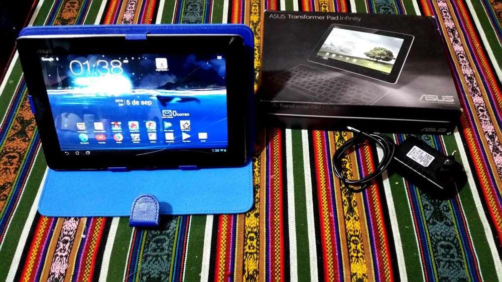 Tablet ASUS Modelo Tf101 Con Patalla Trizada Funcionando Perfectamente