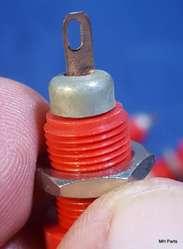 Conector Original 2 Piezas Rojo y Negro