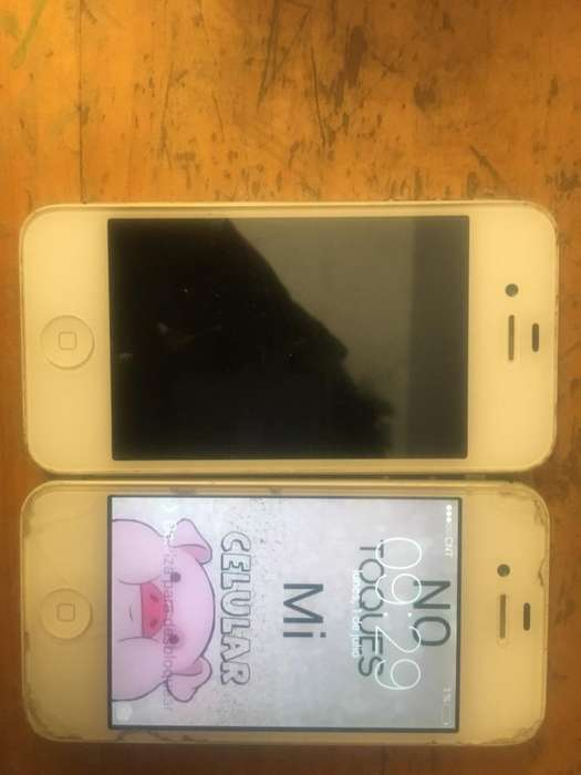 Vendo iPhone 4S con Detalles