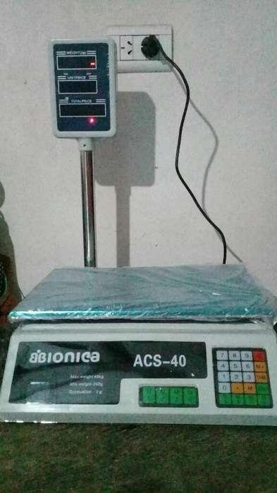 Balanza Bionica 40kg